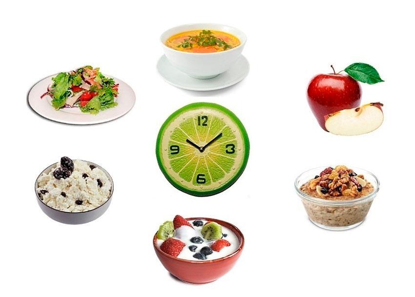 Принимать пищу в небольших порциях