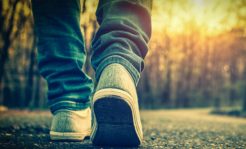 Для профилактики застоя желчи рекомендуются пешие прогулки