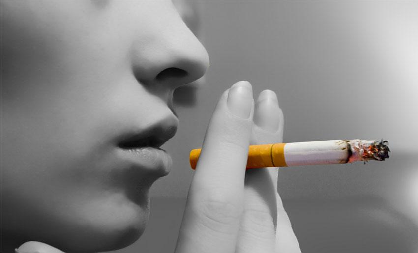 Курение приводит к отложению жировых накоплений